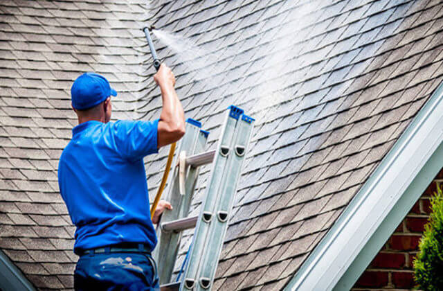 surprise roof cleaning