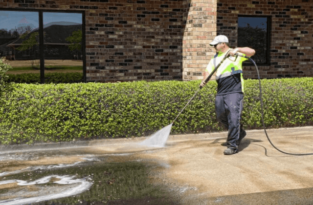 commercial concrete cleaning in surprise